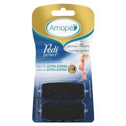 Amopé Pedi Perfect limas giratorias de repuesto para piel Extra Áspera